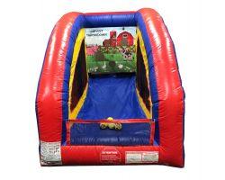 Inflatable Air Frame Game, Harvest Throwdown