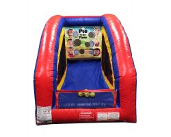 Inflatable Air Frame Game, Pie in the Face