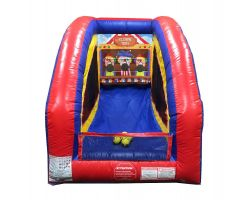 Inflatable Air Frame Game, Clown Toss