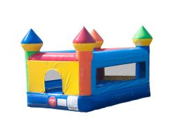 Kids Castle Inflatable Bounce House, Rainbow