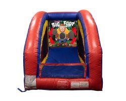 Inflatable Air Frame Game, Bigfoot