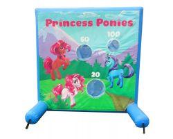 Sealed Air Inflatable Frame Game, Princess Ponies