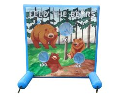 Sealed Air Inflatable Frame Game, Feed the Bears