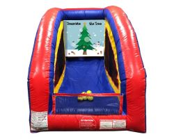 Inflatable Air Frame Game, Decorate the Tree