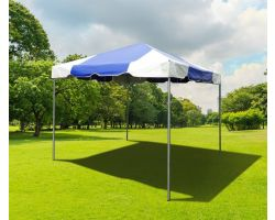 10' X 10' PVC Commercial Steel Frame Tent - Blue