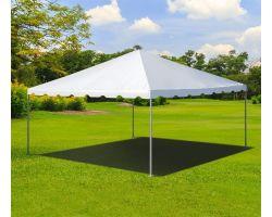 15' X 15' Aluminum Frame Tent - White