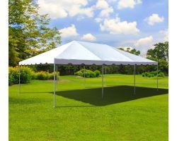 15' X 30' Commercial Aluminum Frame Tent - White