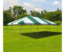 20' X 30' Commercial Aluminum Frame Tent - Green