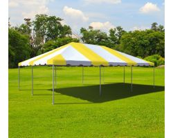 20' X 30' Commercial Aluminum Frame Tent - Yellow