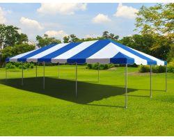 20' X 40' Commercial Aluminum Frame Tent - Blue