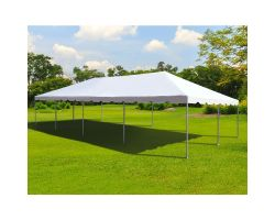 20' X 40' Commercial Frame Tent - Upgraded