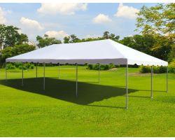 20' X 40' Commercial Aluminum Frame Tent - White