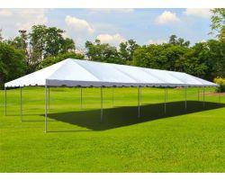 20' X 60' Commercial Aluminum Frame Tent - White