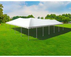 40' X 60' Aluminum Frame Tent - White