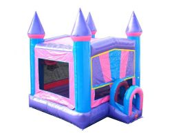 Modular Inflatable Bounce House, Pink Castle