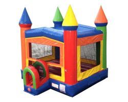 Modular Inflatable Bounce House, Rainbow