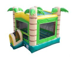 Modular Inflatable Bounce House, Tropical