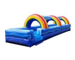 30' Inflatable Water Slip n' Slide, Rainbow