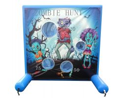 Sealed Air Inflatable Frame Game, Zombie Hunt